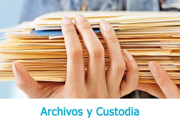 Archivos y Custodia